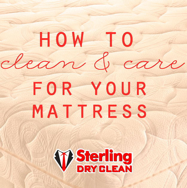 Clean and care for your mattress