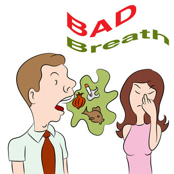Cure Bad Breath the Natural Way