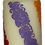 Thumbnail: Cream Candle With Rainbow Colour Design
