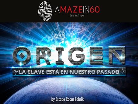 'Origen', A Maze in 60 (Diciembre 2018, Madrid)