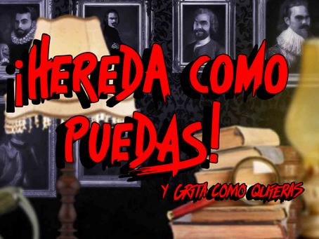 'Hereda como puedas y grita como quieras', Action House (Octubre 2019, Madrid)