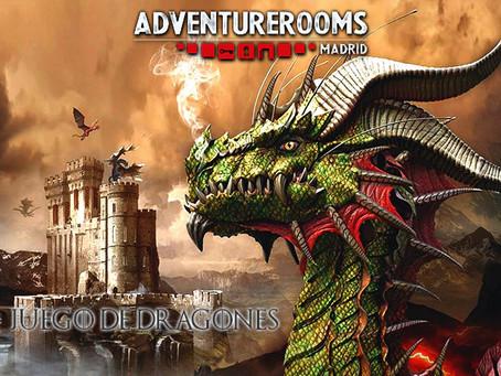 'Juego de Dragones', Adventure Rooms (Febrero 2020, Madrid)