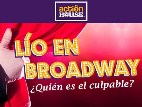 'Lío en Broadway', Action House (Marzo 2018, Madrid)