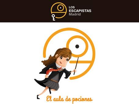 'El aula de pociones', Los Escapistas (Noviembre 2017, Madrid)