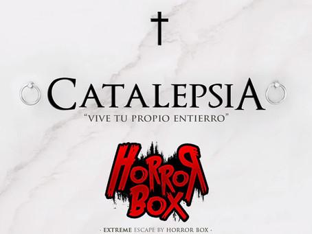 'Catalepsia', Horror Box (Agosto 2019, Barcelona)