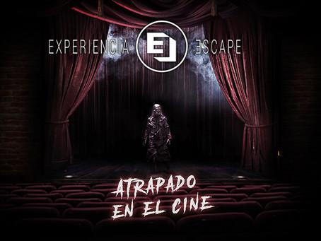 'Atrapado en el cine', Experiencia Escape Room (Agosto 2021, Madrid)
