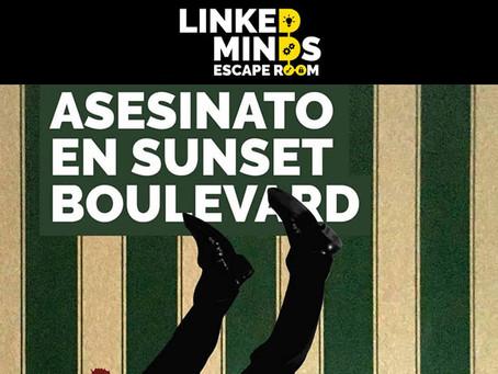 'Asesinato en Sunset Boulevard' - Linked Minds (Septiembre 2018, Madrid) / Test de sala