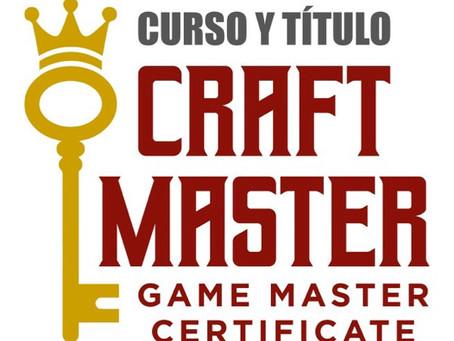 'Craft Master Certificate' - ¡Únete a la revolución! (1/3)