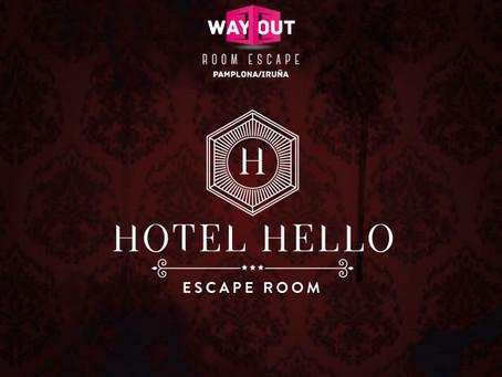 'Hotel Hello', Wayout (Mayo 2019, Pamplona)