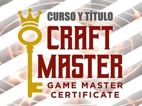 'Craft Master Certificate' - ¡A trabajar que no es gerundio!' (3/3)