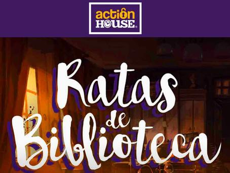 'Ratas de biblioteca', Action House (Marzo 2018, Madrid)