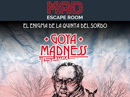 'La locura de Goya', MAD Escape Room (Diciembre 2017, Madrid)