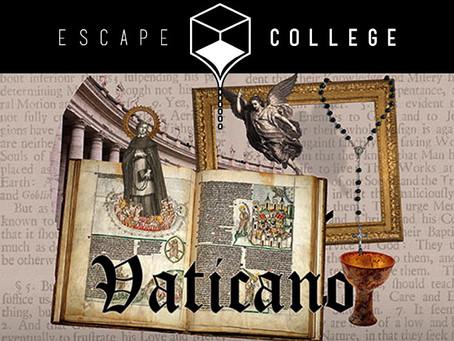 'Vaticano', Escape College (Mayo 2017, Madrid)