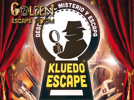 'Kluedo Escape: Los detectives del tiempo', Golden Escape Room (Septiembre 2018, Coslada)