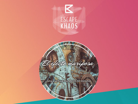 'Efecto mariposa', Escape Khaos (Febrero 2018, Madrid)