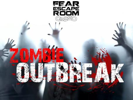 'Zombie Outbreak', Fear Escape Room (Agosto 2019, Barcelona)