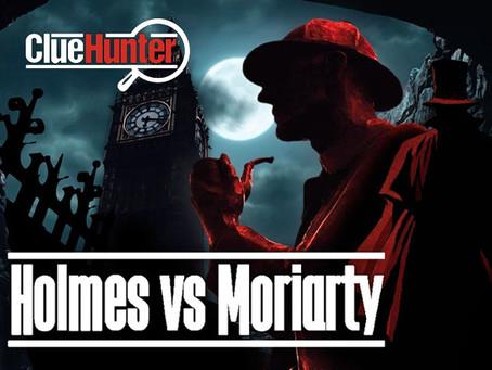 'Holmes vs Moriarty', Clue Hunter (Julio 2018, Madrid)