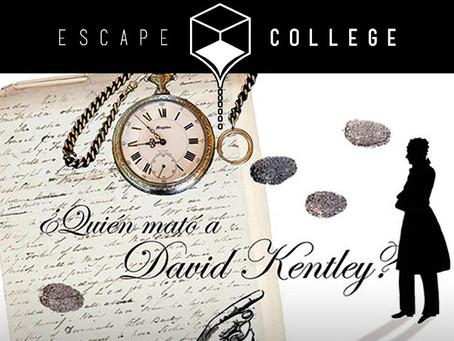 '¿Quién mató a David Kentley?', Escape College (Enero 2018, Madrid)