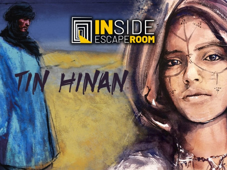 'Tin Hinan, la princesa atlante de los tuareg', Inside Escape Room (Septiembre 2020, Madrid)