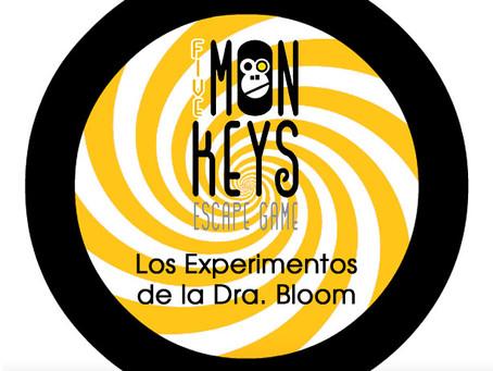 'Los Experimentos de la Dra. Bloom', Five Mon-keys (Marzo 2018, Madrid)