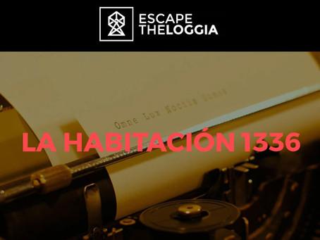 'La habitación 1336', Escape The Loggia (Junio 2018, Madrid)
