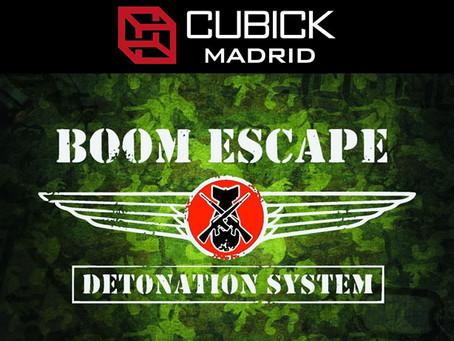 'Boom Escape', Cubick (Julio 2018, Madrid)