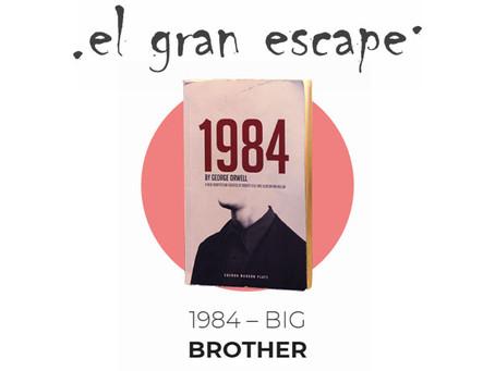 'Big Brother (1984)', El Gran Escape (Febrero 2018, Madrid)