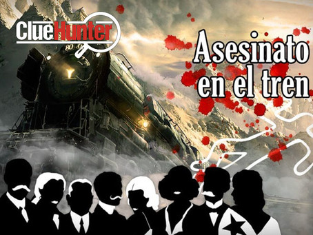 'Asesinato en el Tren', Clue Hunter (Enero 2020, Zaragoza)
