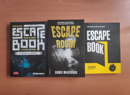 Escape Books - Recopilación de libros de escape (I)