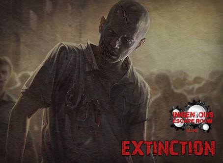 'Extinction', Ingenious Escape Room (Agosto 2020, Elche)