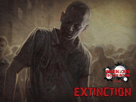 'Extinction', Ingenious Escape Room (Agosto 2020, Elche)