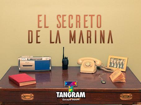 'El Secreto de la Marina', Tangram (Septiembre 2019, Madrid)