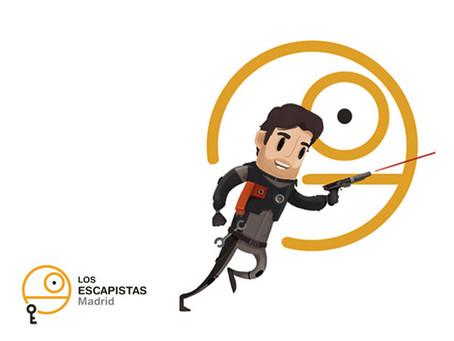 'Infiltración espacial: la última esperanza', Los Escapistas (Mayo 2019, Madrid) / Test de sala