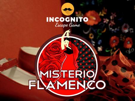 'Misterio Flamenco', Incógnito Escape Game (Enero 2018, Madrid)