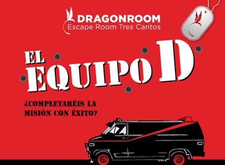 'El equipo D', DragonRoom (Julio 2020, Madrid)