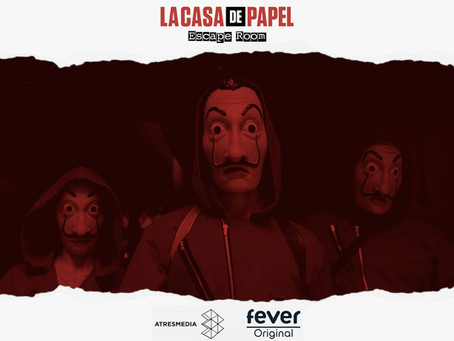 'La casa de papel', Fever & Atresmedia (Octubre 2018, Madrid)