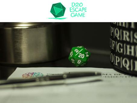 'Expediente Ajna', D20 Escape Game (Diciembre 2019, Málaga)