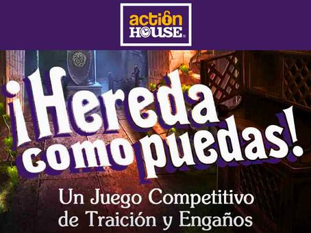 'Hereda como puedas', Action House (Junio 2018, Madrid)