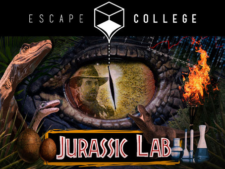 'Jurassic Lab', Escape College (Diciembre 2018, Madrid)