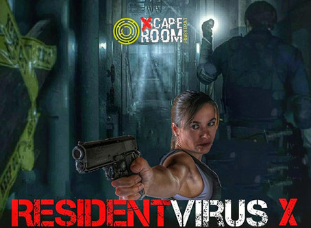 'Resident Virus-X', Xcape Room Finestrat (Agosto 2020, Finestrat)