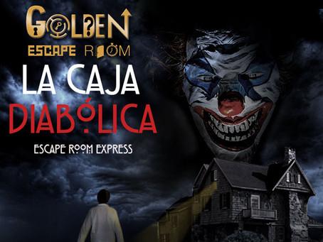 'La caja diabólica', Golden Escape Room (Abril 2018, Coslada) - Evento inauguración