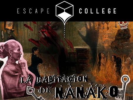 'La habitación de Nanako', Escape College (Enero 2018, Madrid)