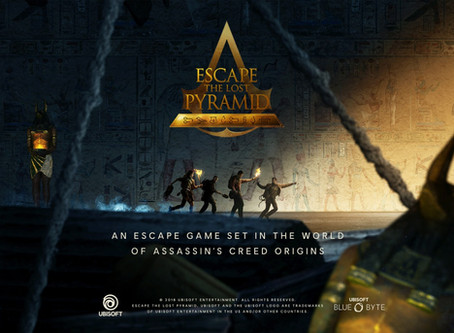 'Escape the Lost Pyramid VR', Incógnito (Agosto 2020, Madrid)