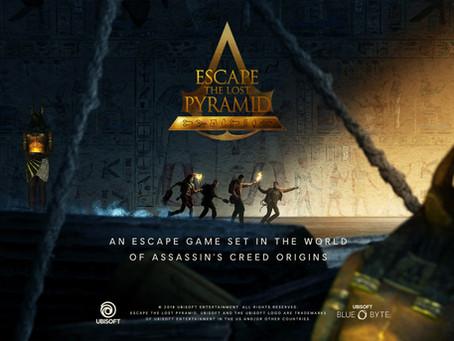 'Escape the Lost Pyramid VR', Incógnito (Agosto 2020, Madrid)