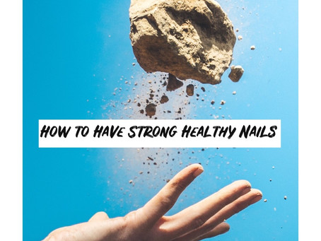Tips For Strong, Healthy Nails