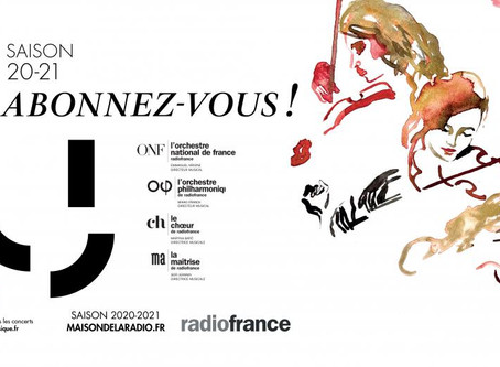 Benjamin becomes Artist-in-Residence with Radio France