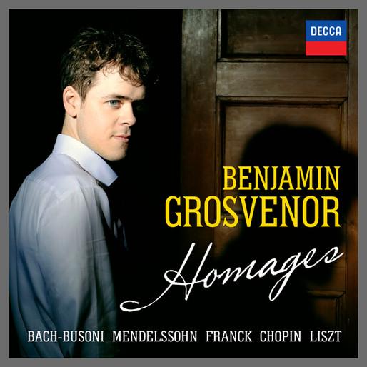 Benjamin announces new recital album on Decca Classics