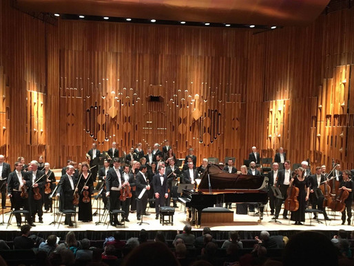 Praise for Benjamin's London Symphony Orchestra debut