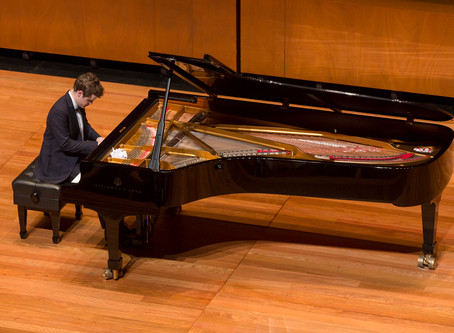 Benjamin Grosvenor and Hyeyoon Park to give live recital from empty Wigmore Hall