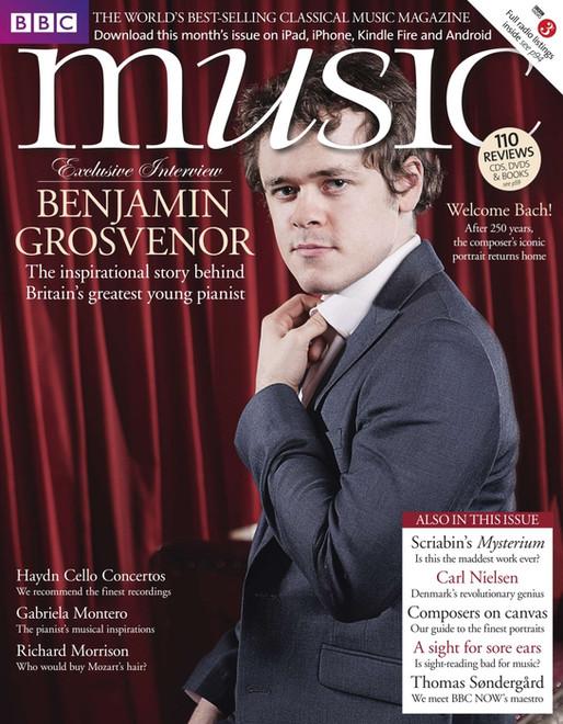 BBC Music Magazine cover features Benjamin